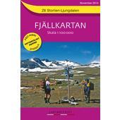 Fjällkartan 1 : 100 000 Z6 Storlien - Ljungdalen Bergwanderkarte  - Wanderkarte