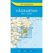 Stockholm  - Straßenkarte
