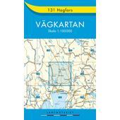 VÄGKARTAN 131 HAGFORS  - Wanderkarte