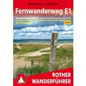 FERNWANDERWEG E1 DEUTSCHLAND NORD  - Reiseführer