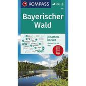 BAYERISCHER WALD 1:50 000  - Wanderkarte
