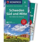 KOMPASS Wanderführer Schweden Süd und Mitte, Von Skåne bis Dalarna  -