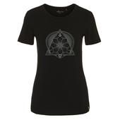 FRILUFTS BLACK PRINTED T-SHIRT Frauen - Funktionsshirt
