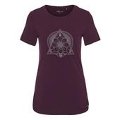 FRILUFTS DEEP PURPLE PRINTED T-SHIRT Frauen - Funktionsshirt