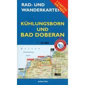 Rad- und Wanderkarten-Set: Kühlungsborn und Bad Doberan  -