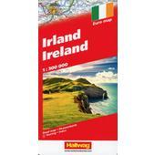 IRLAND 1:300 000 STRASSENKARTE  -