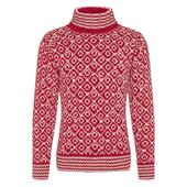 Devold SVALBARD SWEATER HIGH NECK Unisex - Wollpullover