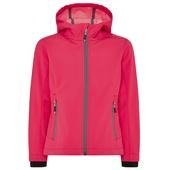 CMP JACKET FIX HOOD SOFTSHELL MELANGE Kinder - Softshelljacke