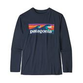Patagonia BOYS'  L/S CAP COOL DAILY T-SHIRT Kinder - Funktionsshirt