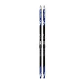 Fischer SUMMIT CROWN BLUE MOUNTED Unisex - Skiset