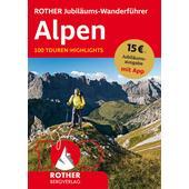ROTHER Jubiläums-Wanderführer Alpen  - Wanderführer