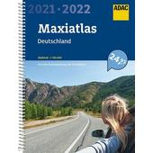 ADAC MAXIATLAS DEUTSCHLAND 2021/2022 1:150 000  - Straßenkarte