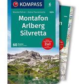 KOMPASS Wanderführer Montafon, Arlberg, Silvretta  -