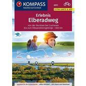 KOMPASS RadReiseFührer Erlebnis Elberadweg  - Radwanderführer