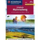 KOMPASS RadReiseFührer Erlebnis Mainradweg  - Radwanderführer