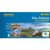 ELBE-RADWEG / ELBE-RADWEG STROMAUFWÄRTS  - Radwanderführer