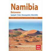 NELLES GUIDE REISEFÜHRER NAMIBIA - BOTSWANA  -