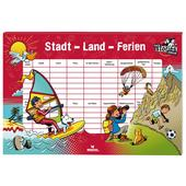 Moses Verlag BLACK STORIES JUNIOR STADT LAND FERIEN Kinder - Reisespiele