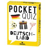 Moses Verlag POCKET QUIZ DEUTSCHLAND Kinder - Reisespiele