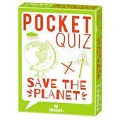 Moses Verlag POCKET QUIZ SAVE THE PLANET Kinder - Reisespiele