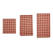 Kikkerland BEESWAX WRAP GINGHAM  -