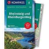 KOMPASS WANDERFÜHRER RHEINSTEIG RHEINBURGENWEG  -