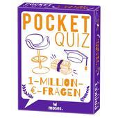 Moses Verlag POCKET QUIZ 1-MILLION-€-FRAGEN Kinder - Reisespiele