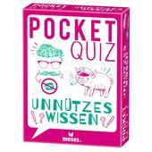 Moses Verlag POCKET QUIZ UNNÜTZES WISSEN Kinder - Reisespiele