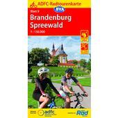 ADFC-RADTOURENKARTE 9 BRANDENBURG SPREEWALD 1:150.000  - Fahrradkarte
