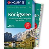 KOMPASS WANDERFÜHRER KÖNIGSSEE, NATIONALPARK BERCHTESGADEN  -