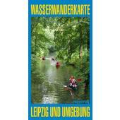 WASSERWANDERKARTE LEIPZIG UND UMGEBUNG  - Wasserkarte
