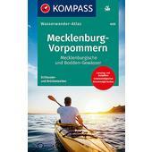 KOMPASS WASSERWANDERATLAS MECKLENBURG-VORPOMMERN 1:100000  - Wasserkarte