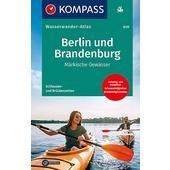 KOMPASS WASSERWANDERATLAS BERLIN UND BRANDENBURG 1:100 000  -