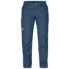Fjällräven KARLA TROUSERS Frauen - Trekkinghose - UNCLE BLUE