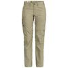Fjällräven KARLA ZIP-OFF TROUSERS W Frauen - Trekkinghose - LIGHT KHAKI