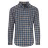 Patagonia M' S L/S PIMA COTTON SHIRT Männer - Outdoor Hemd - LODGE PINE: STONE BLUE