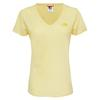 The North Face S/S SIMPLE DOME TEE Frauen - T-Shirt - SUNSHINE