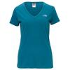 The North Face S/S SIMPLE DOME TEE Frauen - T-Shirt - BLUE CORAL