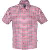 The North Face S/S SAND SHIRT Männer - Outdoor Hemd - TNF RED PLAID
