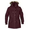 Fjällräven SINGI WINTER JACKET W. Frauen - Winterjacke - DARK GARNET