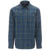The North Face L/S LODGE SHIRT Männer - Outdoor Hemd - SHADY BLUE PLAID