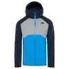 The North Face STRATOS JACKET Männer - Regenjacke - BOMBERBLUE/MID GREY/URB.NAVY
