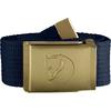 Fjällräven CANVAS BRASS BELT 4 CM Unisex - Gürtel - DARK NAVY