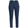 Fjällräven HIGH COAST TROUSERS W Frauen - Trekkinghose - NAVY