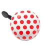 Big Polka Dots white/red