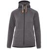 Fjällräven ÖVIK FLEECE HOODIE W Frauen - Fleecejacke - DARK GREY