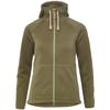 Fjällräven ÖVIK FLEECE HOODIE W Frauen - Fleecejacke - GREEN