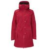 Bergans BJERKE 3IN1  COAT Frauen - Wolljacke - BURGUNDY/DARK NAVY