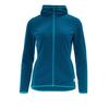 FRILUFTS WULKA HOODED FLEECE JACKET Frauen - Fleecejacke - MOROCCAN BLUE