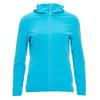 FRILUFTS WULKA HOODED FLEECE JACKET Frauen - Fleecejacke - FJORD BLUE